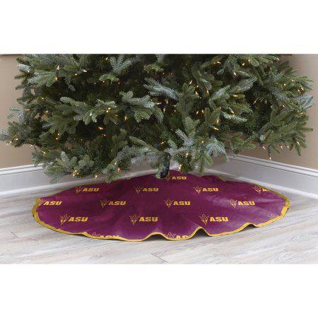 Ncaa Licensed Logo Christmas Tree Skirt, Arizona State, Multicolor