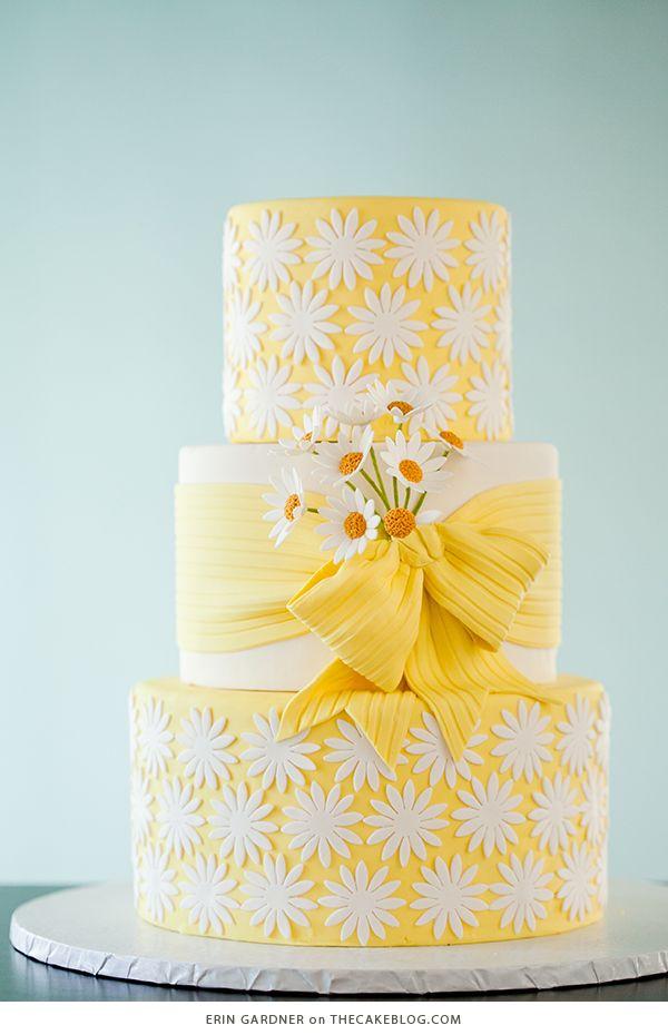 10 Brilliant Yellow Cakes | Cake Art | Pinterest | Yellow weddings ...