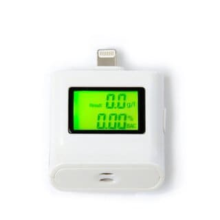 Alcohol Tester Breathalyzer For Iphone And Ipad Black