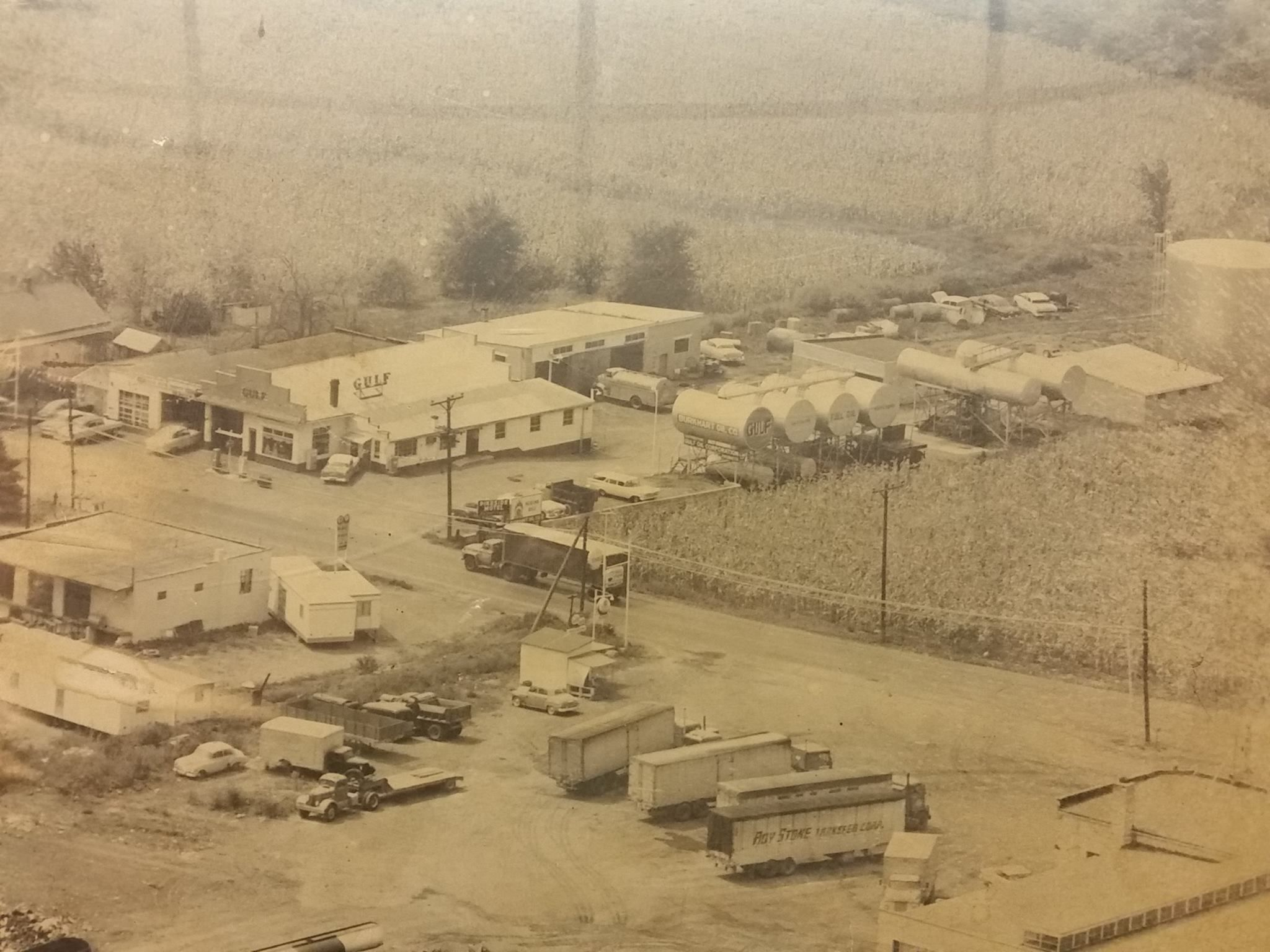 Martinsburg West Virginia Us Route 11 North In 1950 S Youngs Truck Stop To Right