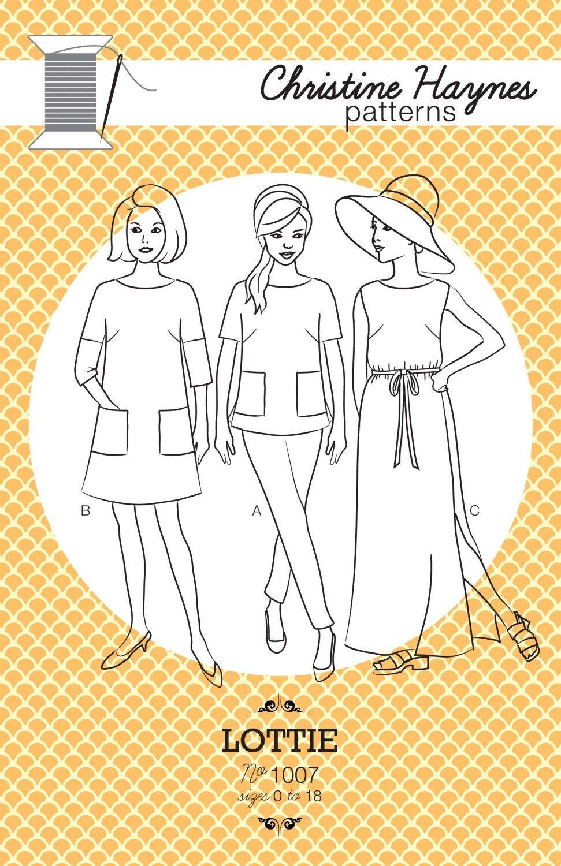Lottie Dress and Shirt - Christine Haynes from Spool Fabric