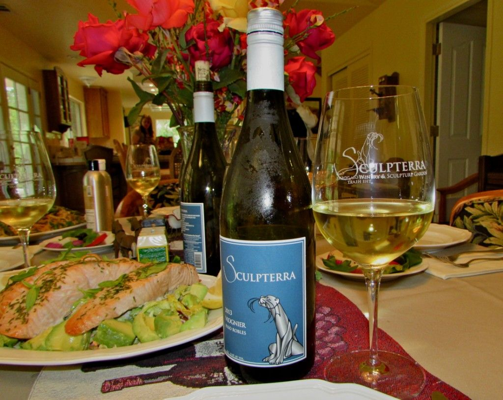 Sculpterra 2013 Viognier - Paso Robles - Back Roads of Paso Robles http://www.backroadswineries.com/blog/2014/05/11/wine-and-food-pairing-back-roads-paso-robles-wine-country-2/