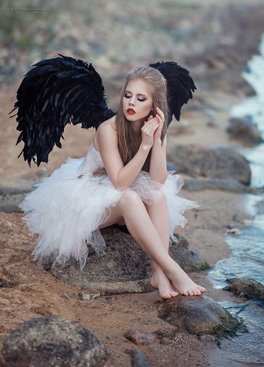 боковые идеи для фотосессии ангел александр владимирович