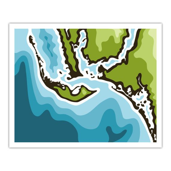 Florida Map Fort Myers.Sanibel Island Fort Myers Cape Coral Florida Map Art Print