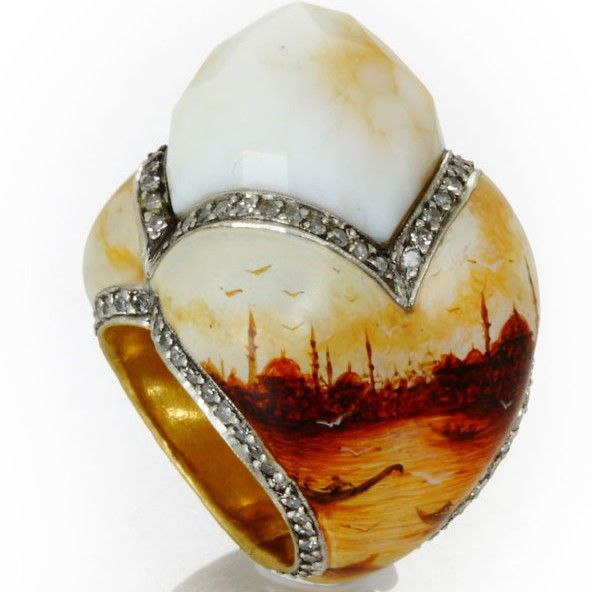 Sevan Bicacki  <<< what an amazing ring!  Love everything about it!  <3~R~<3