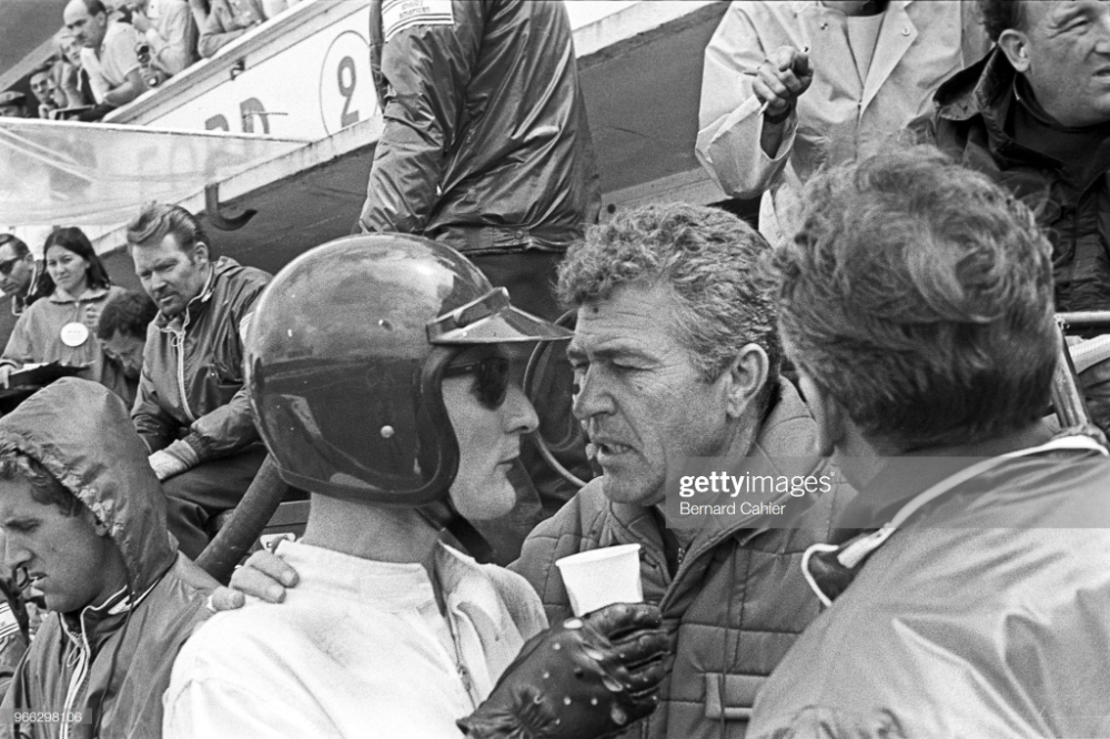 Ken Miles Carroll Shelby 24 Hours Of Le Mans Le Mans 19 June