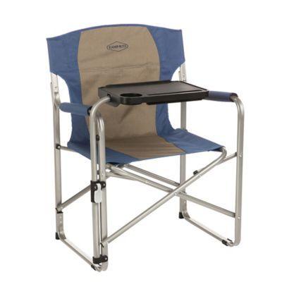 Incredible Kamp Rite Folding Rocking Chair Camping Furniture Blue Tan Dailytribune Chair Design For Home Dailytribuneorg