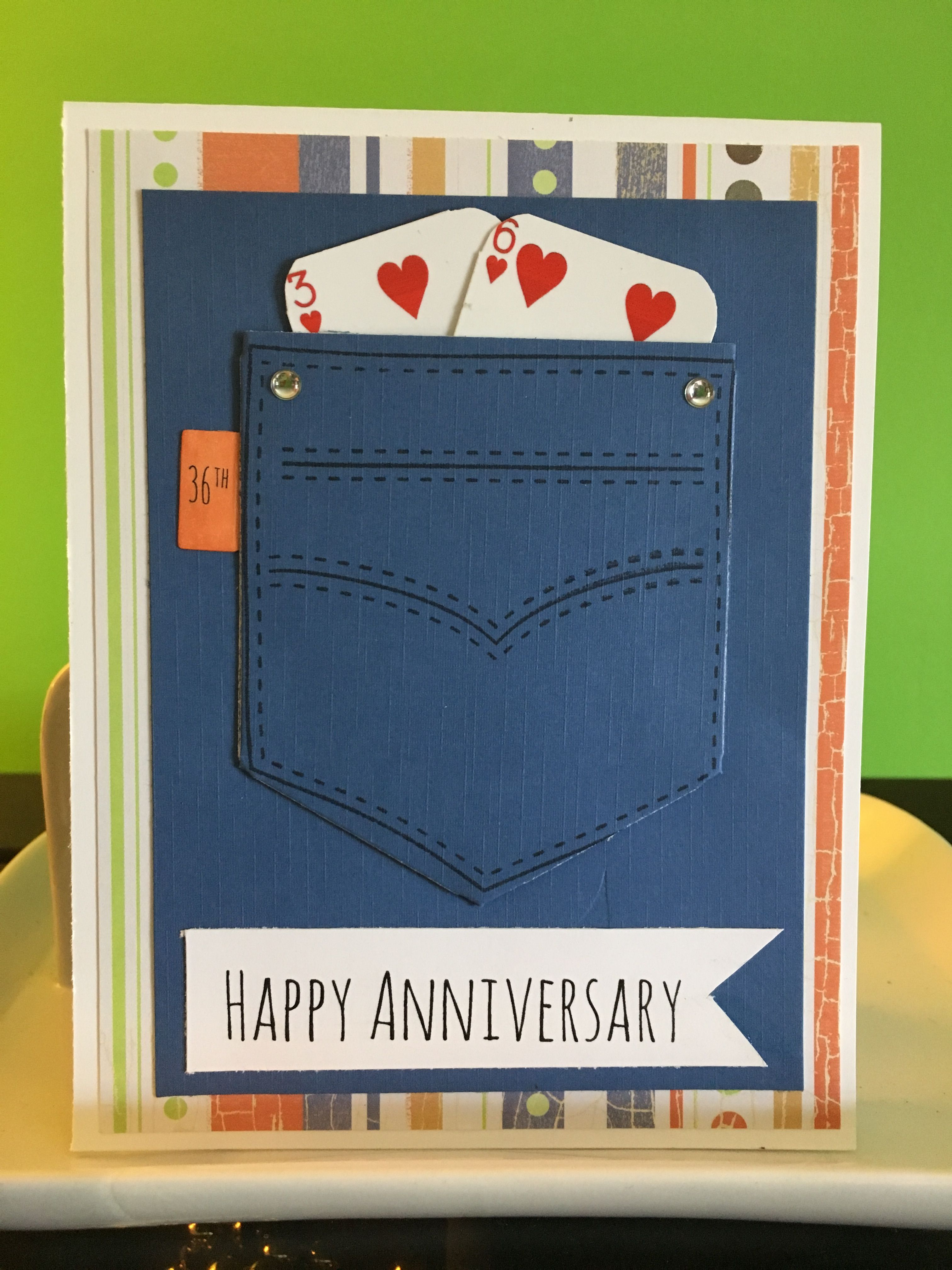 36th Anniversary Anniversary Cards Cards Wedding Anniversary Cards