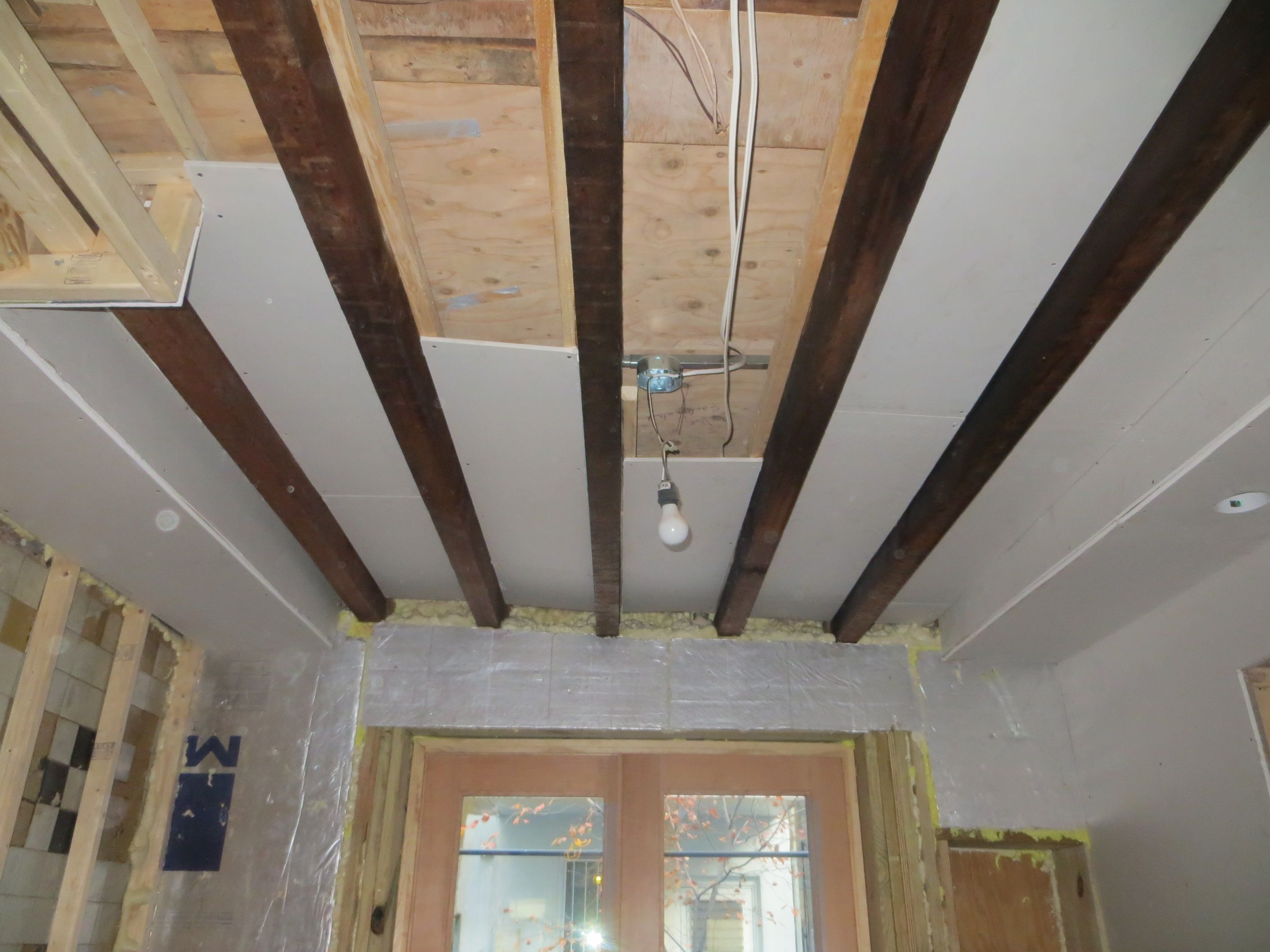 Kitchen Drywall Resumes The Hardest Part Easy Basement Ceiling Low Ceiling Basement Exposed Basement Ceiling