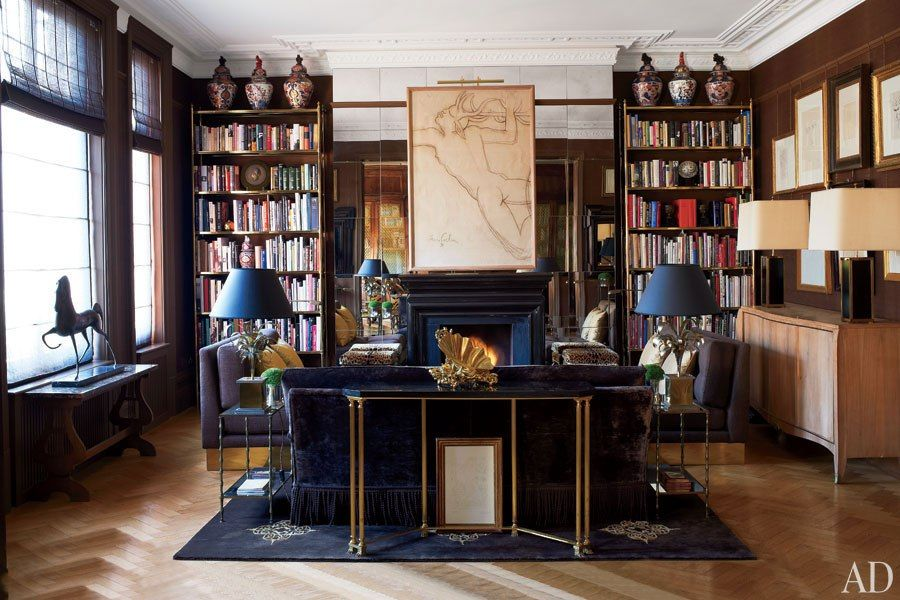 Paolo Moschino and Philip Vergeylen's Revived London Home : Architectural Digest