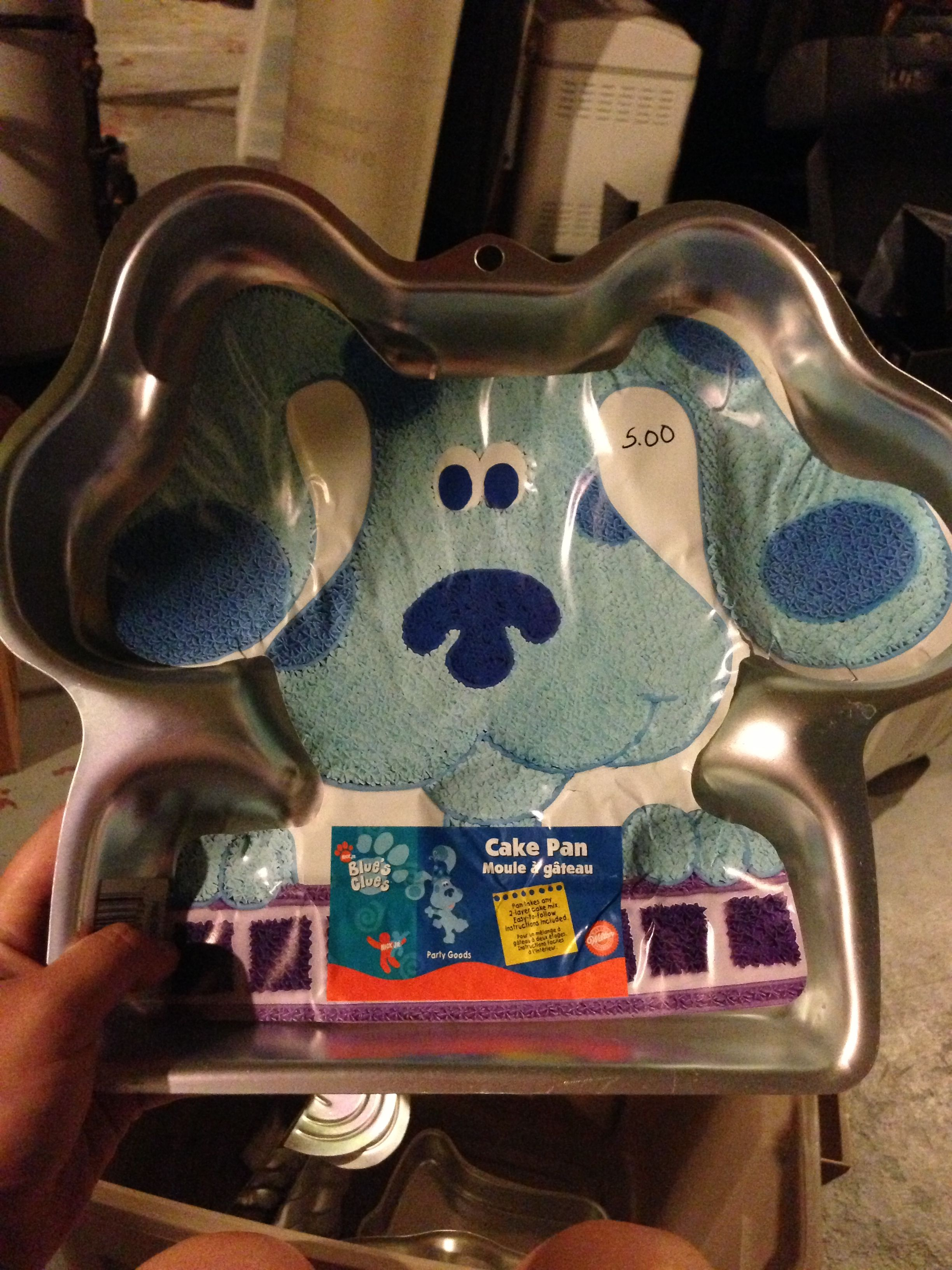 Blues clues pan