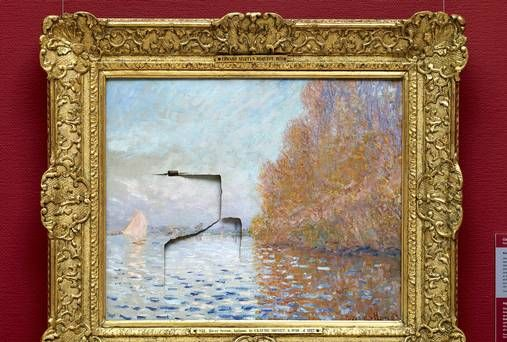 Man Given Six Year Prison Sentence For Damaging Monet Painting
