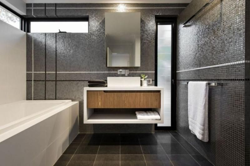 10 Sleek Floating Bathroom Vanity Design Ideas - Rilane | Bathroom ...