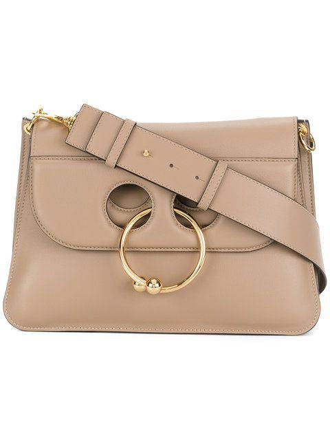 Pierce mini leather cross-body bag   JW Anderson