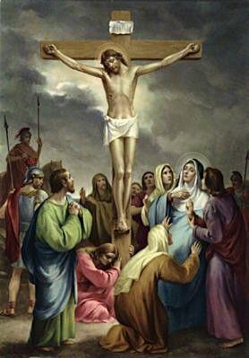 12 Jésus meurt sur la Croix | Images religieuses, Image jesus, Chemin de  croix