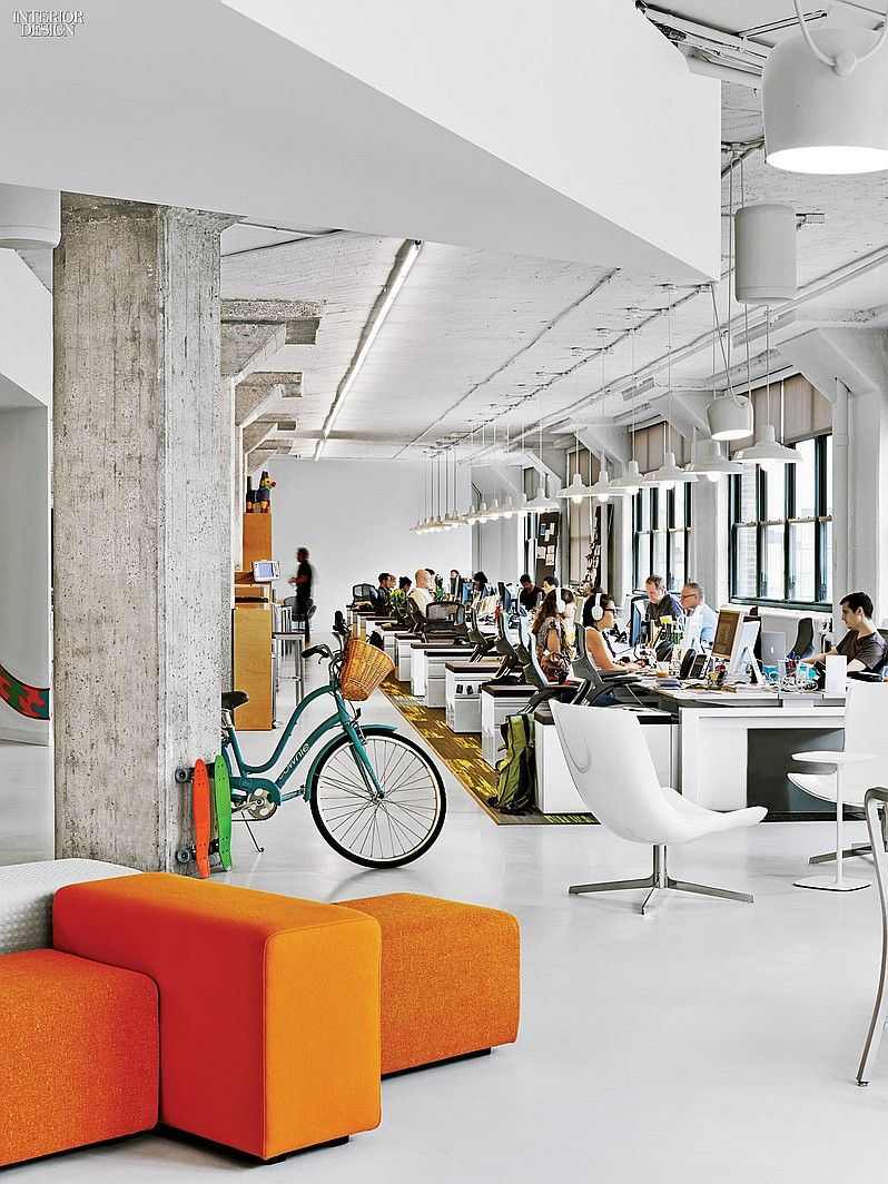 The creative class 4 manhattan tech and media offices arnold worldwide by tpb architecture in tribeca new york