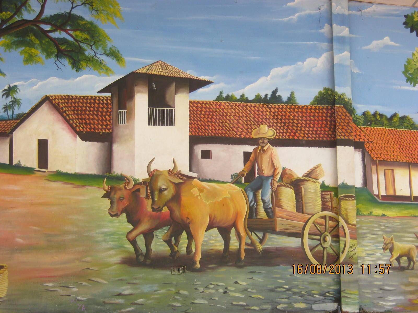 Carreta De Bueyes Art Painting Painting Art