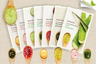 Types of Innisfree Mask ! #innisfree