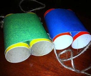 Go Summer Exploring With Homemade Binoculars Summer Crafts For