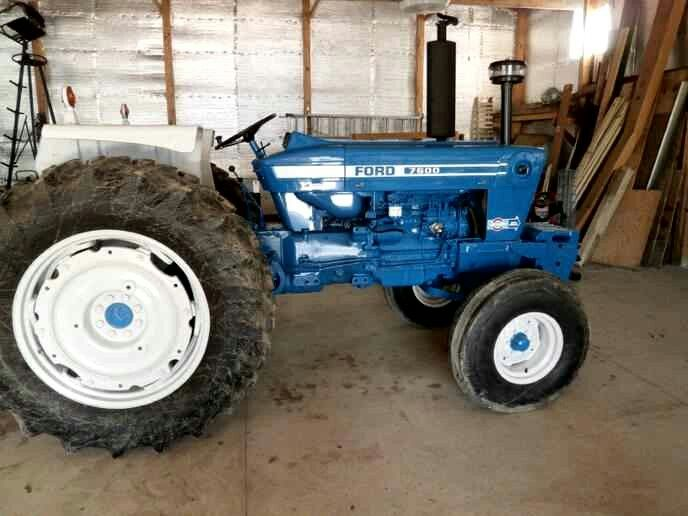 Ford 7600 Ford Tractors Tractors New Holland Tractor