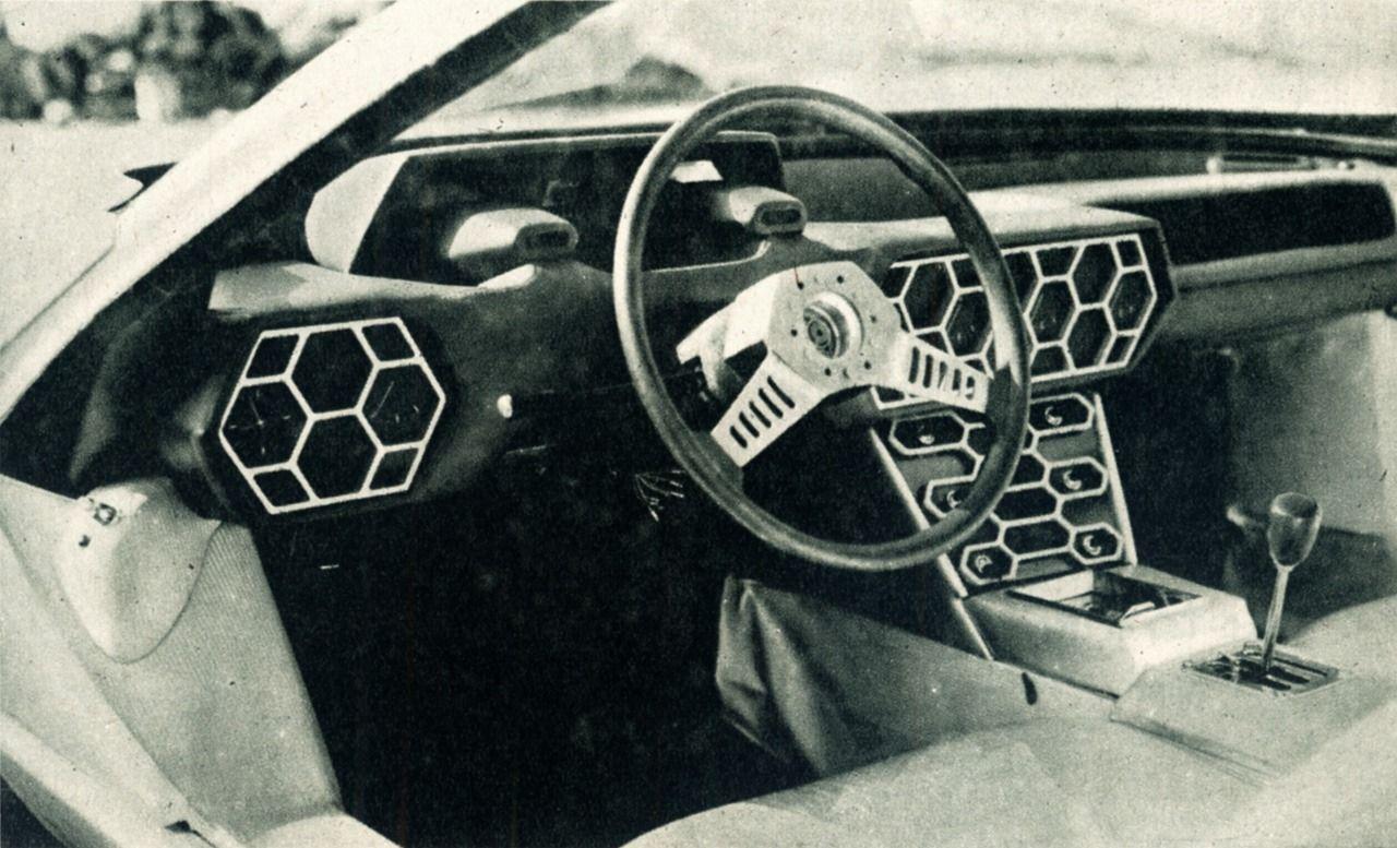 Lamborghini Marzal. In: autó-motor, 1967.IV.6.