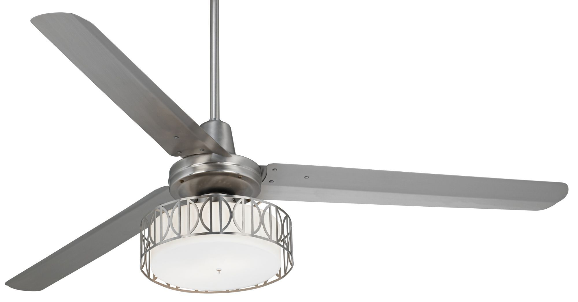 Nursery Ceiling Fans 60 Quot Casa Vieja Turbina Art Deco Brushed Steel Ceiling Fan
