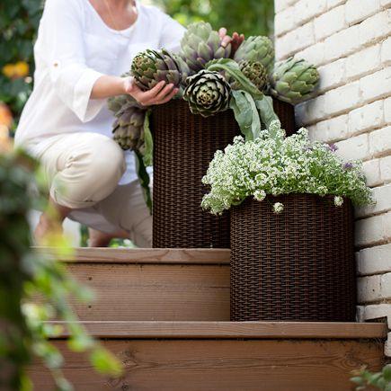 Ratan Leroy Merlin Cocina Garden Planters Y Decorative Planters