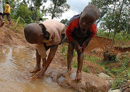 July 3, 2012-Cholera cripples Bududa one week after landslide