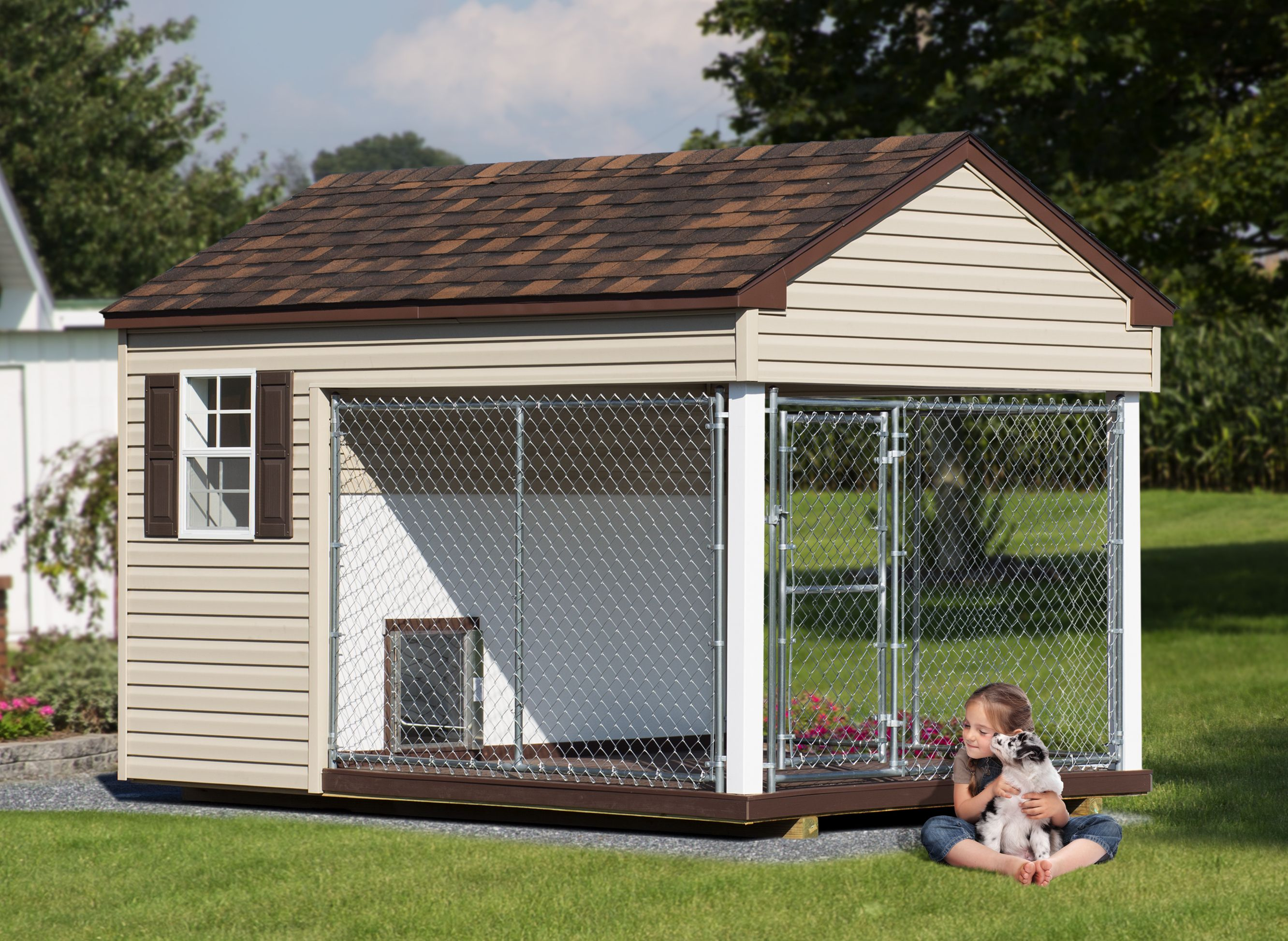 Large Dog Kennels For Outside From The Dog Kennel Collection Dog