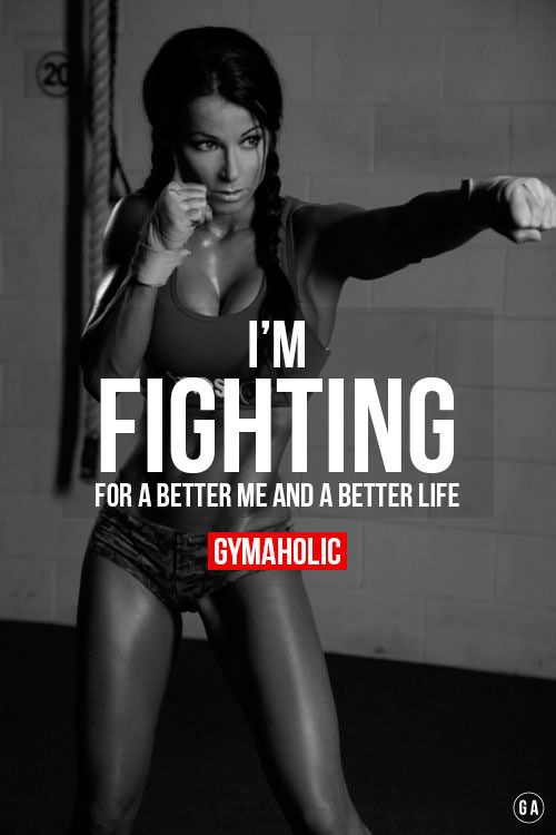 I'm FIGHTING For A Better Me And A Better Life