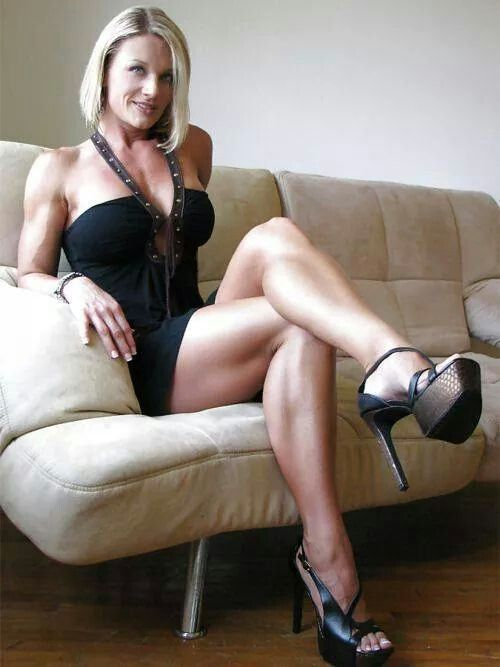 Milf with amazing hot legs