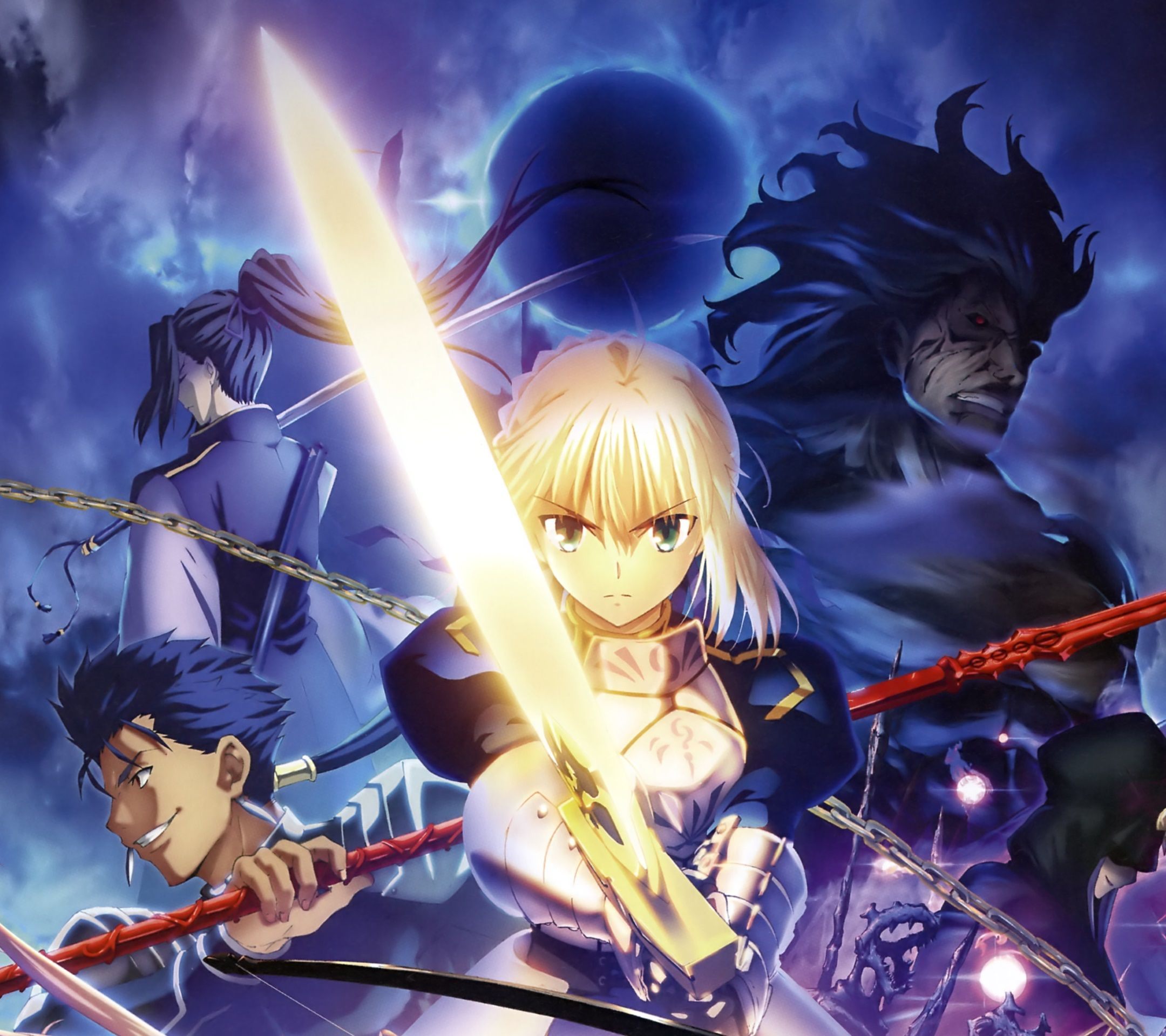 Saber Anime Wallpaper Android Com Imagens Galo