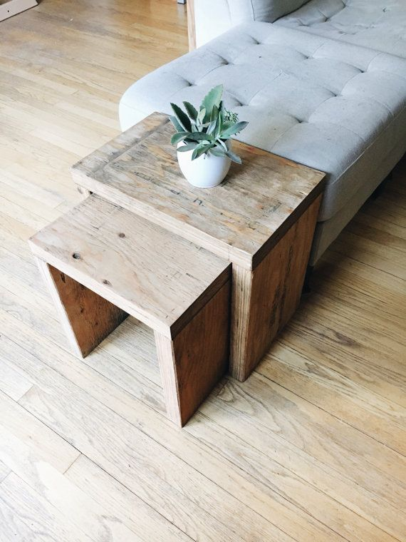 The 25 Best Nesting End Tables Ideas On Pinterest