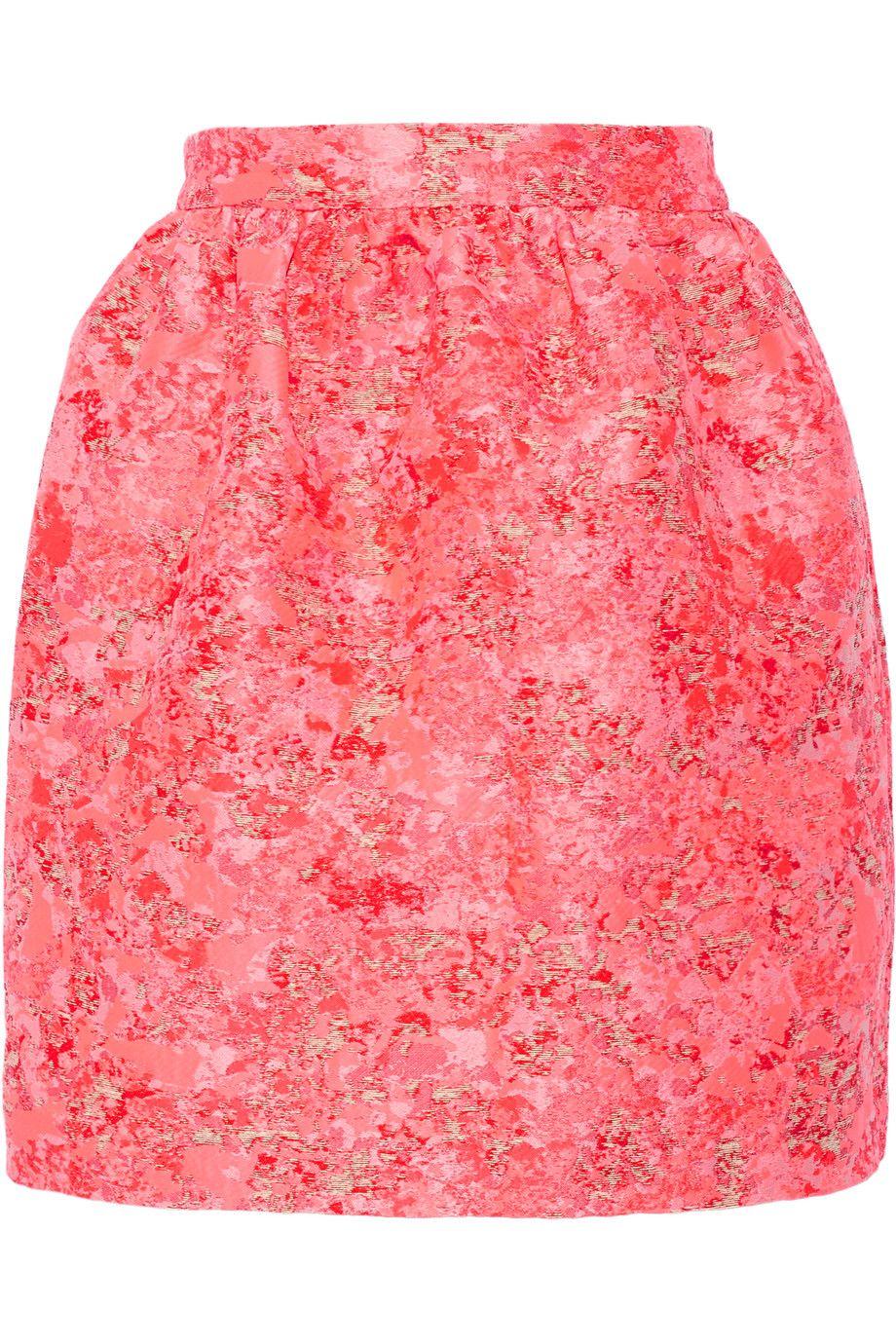 MARKUS LUPFER Vivian jacquard mini skirt. #markuslupfer #cloth #skirt