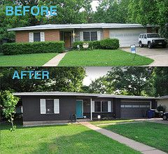 Before And After By Shakerdesigns Ranch Exterior Siding Ideaakeover