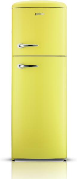 Gorenje Yellow Fridge Freezer