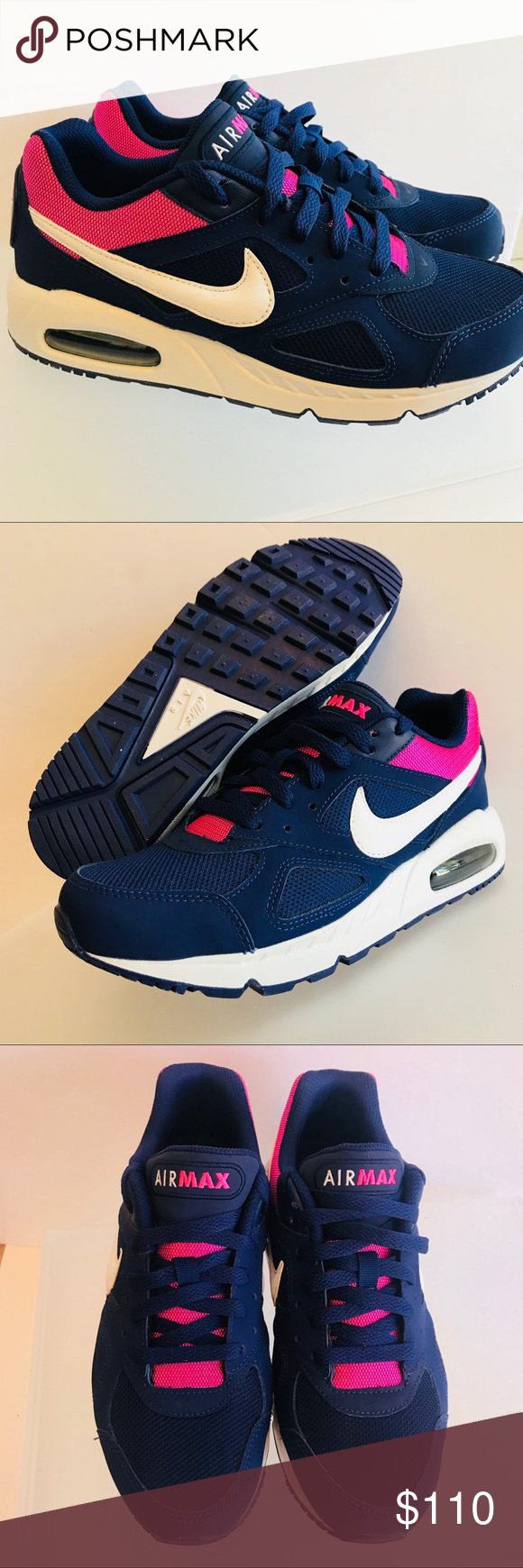 nike air max ivo trainers ladies size 8