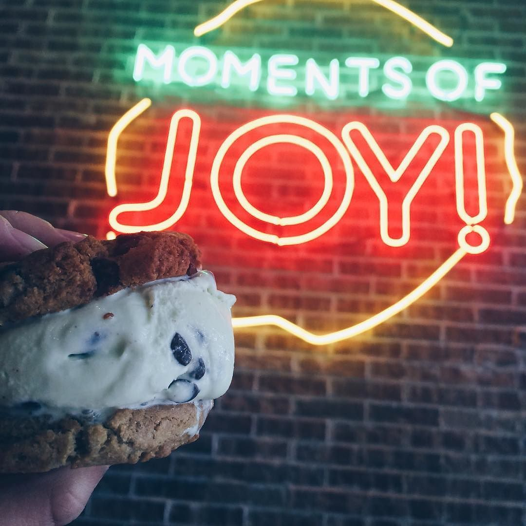 @moojomoments has the BEST ice cream sandwiches Go check em' out by adelinerock