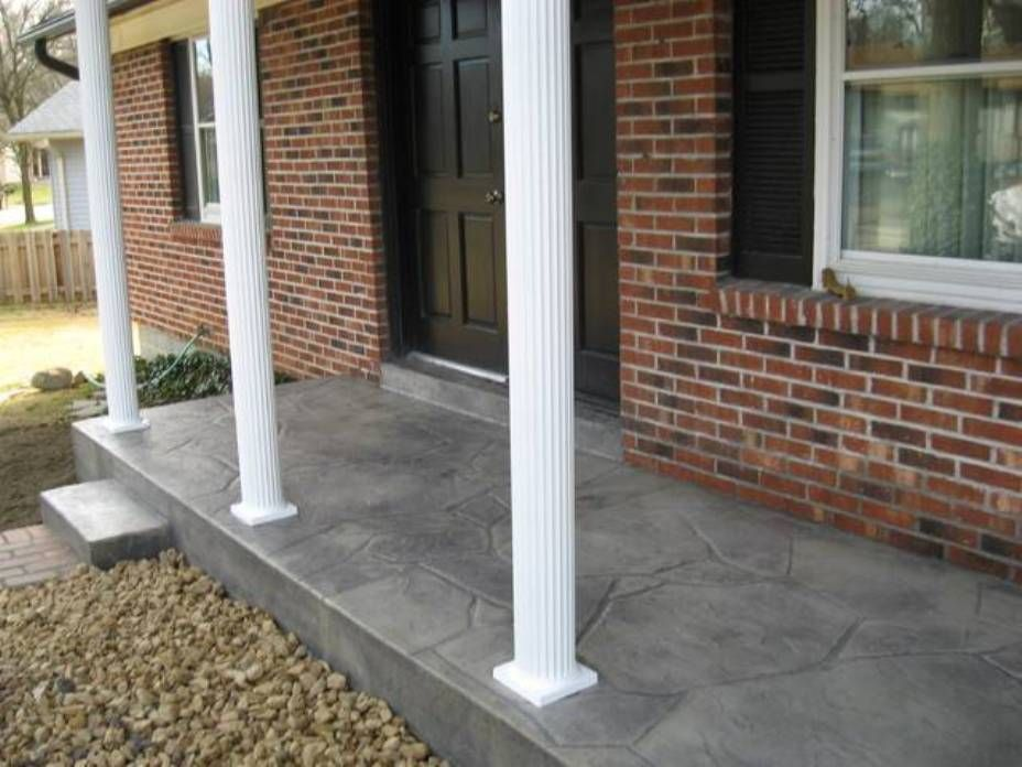 Image Result For Front Porch Floor Ideas Porch Paint Concrete