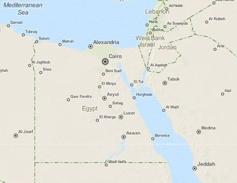 Landkarte Agypten Mit Bildern Kairo Hurghada