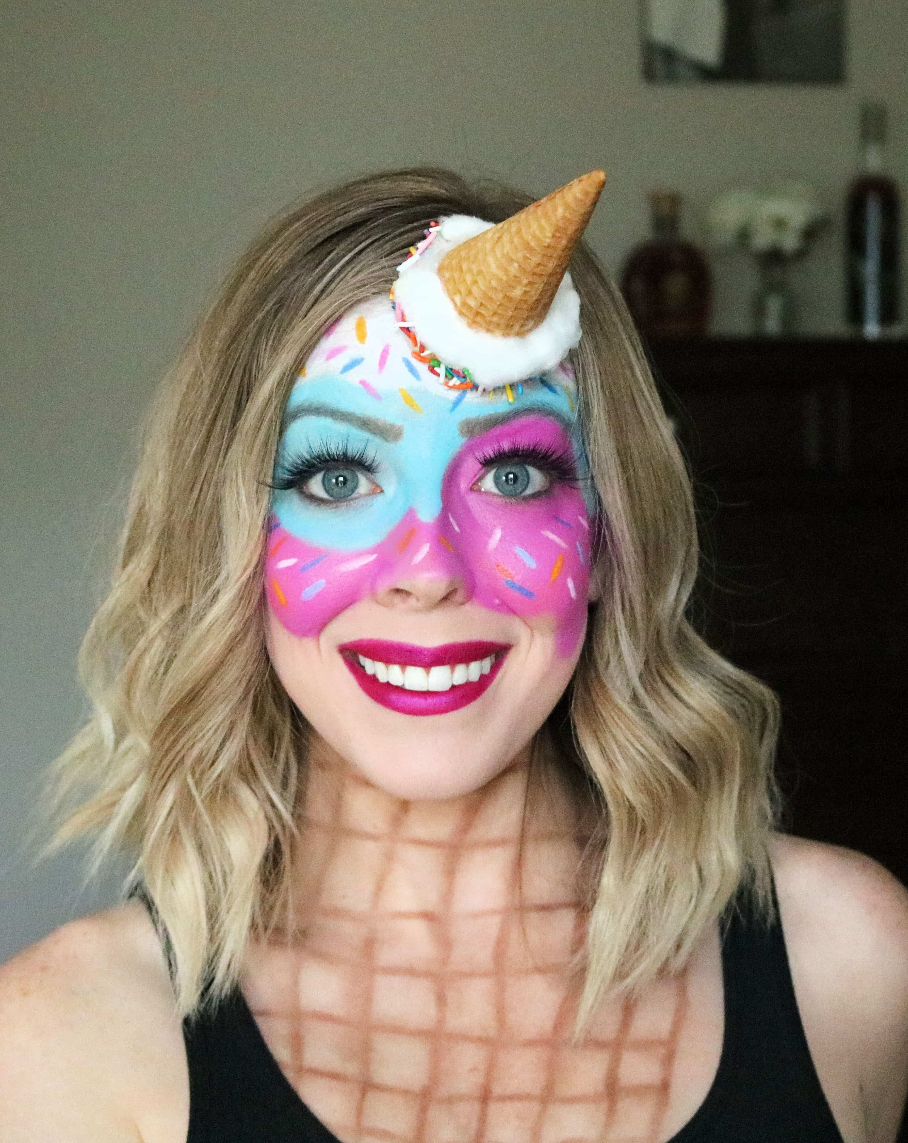 Want a fun halloween makeup look? Check out my cute and
