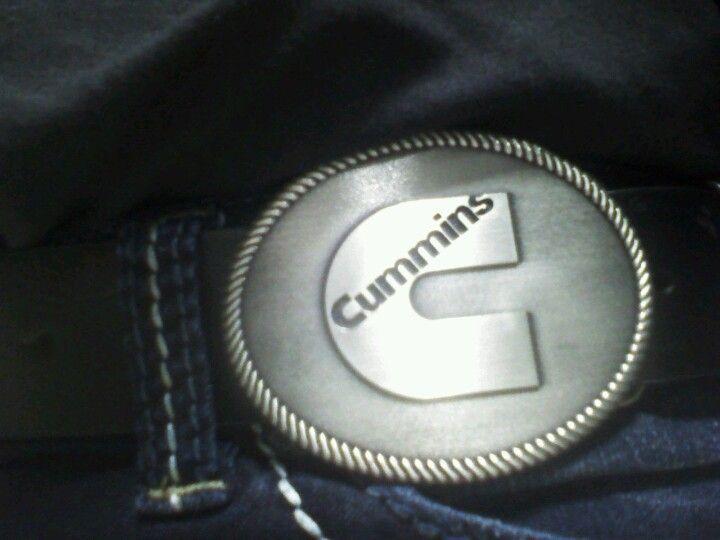 Vivian's new belt buckle