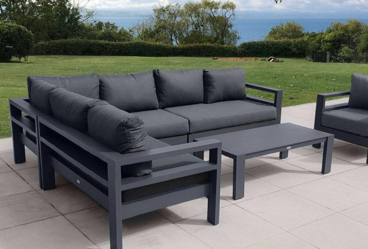Coast Corner Charcoal In 2020 Furniture Outdoor Furniture Nz Furniture Nz