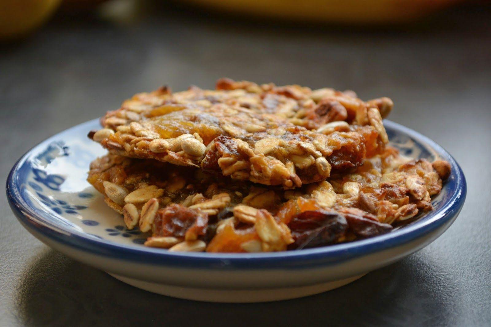 Kasza Prodżekt: Wspaniałe ciastka musli bez tłuszczu