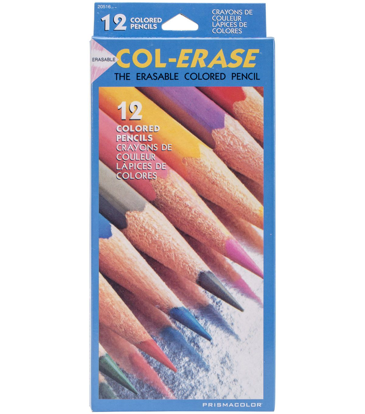 Prismacolor Col Erase Erasable Colored Pencils 12 Pack
