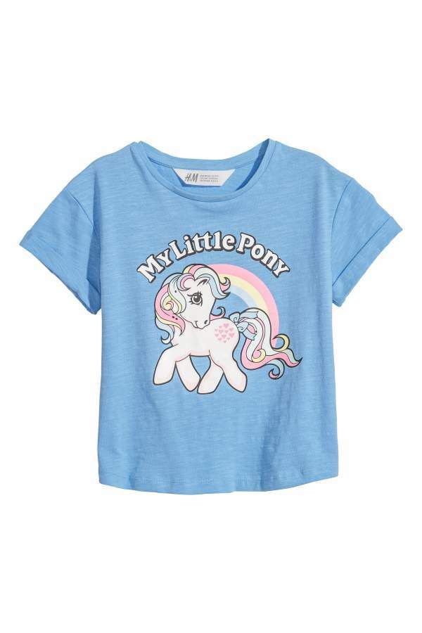 ea9ad0a5daa8 T-shirt with Printed Design - Blue/My Little Pony - Kids  #jersey#printed#design