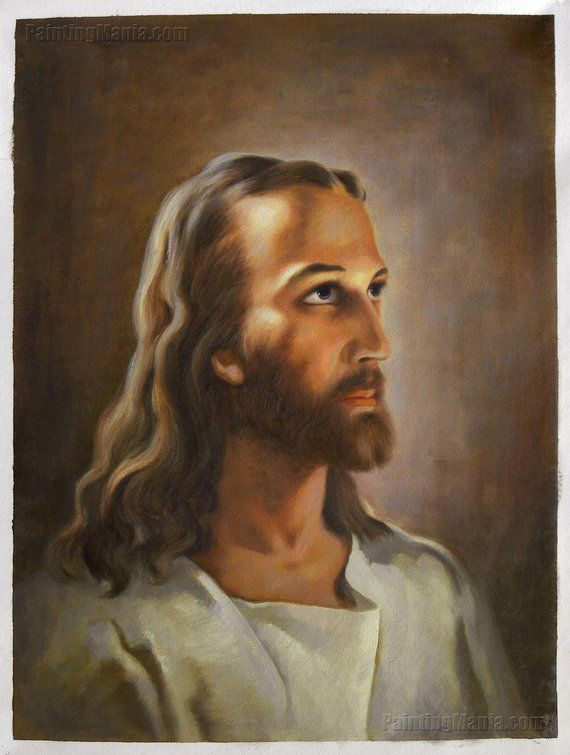 Head Of Christ High Quality Hand Painted Oil Painting Reproduction