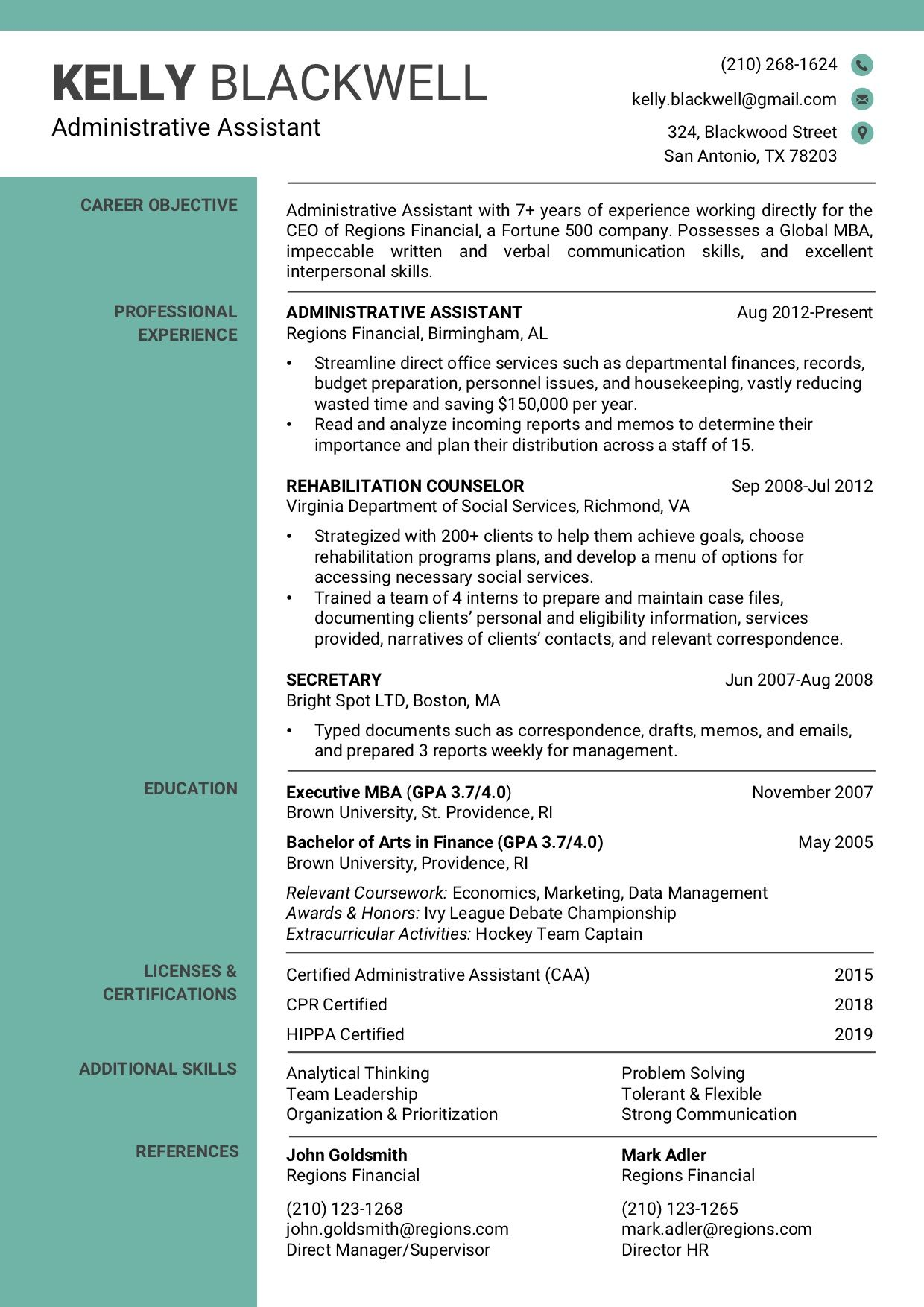 Resume Template 1d Rc Verbal Communication Skills Resume Template Professional Resume Templates