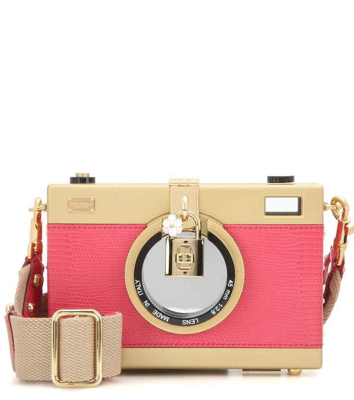 bcf23feeb61 Dolce & Gabbana Camera Case leather shoulder bag. Click the link to shop  right now!
