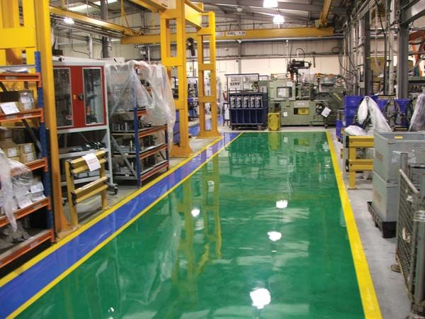 Epoxy Floor Coating Detailed Evaluation Of The Costs Epoxy Floor Epoxy Floor Coating Flooring